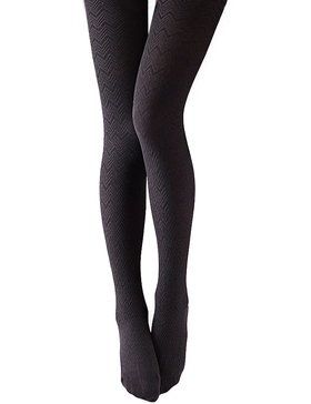 VERO MONTE 1 Pair Knit Pattern Tights Tummy Control Leggings High Waist
